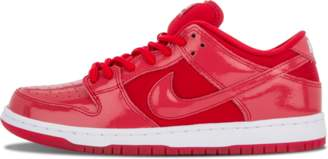 Nike Dunk Low Pro SB 'Red Patent Leather' - Varsity Red/White