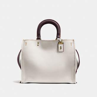 a049a61b7272 Coach White Leather Handbags - ShopStyle