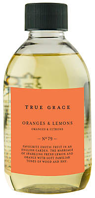 True Grace Village Oranges and Lemons Diffuser Refill, 250ml