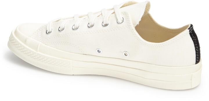 Comme des Garcons x Converse Chuck Taylor(R) Hidden Heart Low Top Sneaker