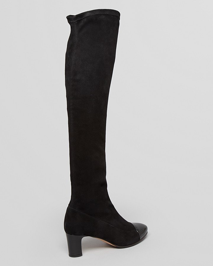 Max Mara Cap Toe Over The Knee Boots - Adriana High Heel