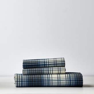 Pottery Barn Teen Barrett Plaid Sheet Set