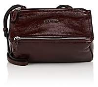 Givenchy Women's Pandora Pepe Mini Patent Leather Messenger Bag-Aubergine