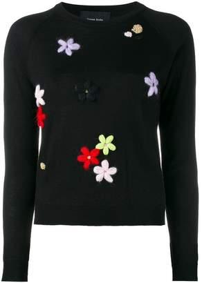 Simone Rocha embroidered sweater