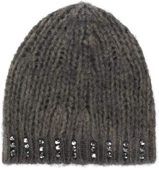 Embellished Beanie Hat - ShopStyle UK e69faf5738c4