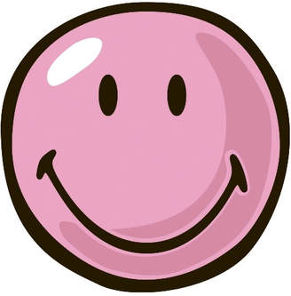 Fun Rugs Smiley World Pink Smiley Area Rug Rug