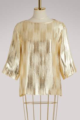 Vanessa Seward Foudre silk top