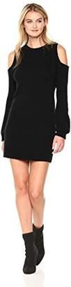 Pam & Gela Women's Cold Shoulder Dress
