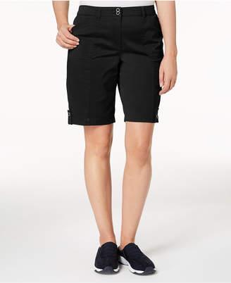Karen Scott Utility Shorts, Created for Macy's