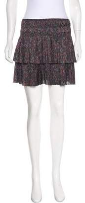 Ulla Johnson Printed Mini Skirt