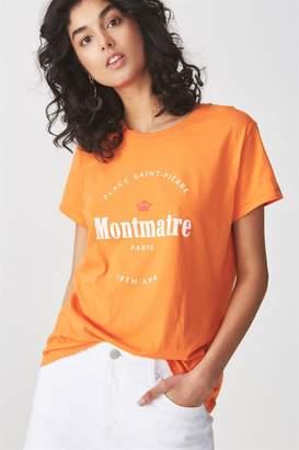 Cotton On Tbar Fox Graphic T Shirt