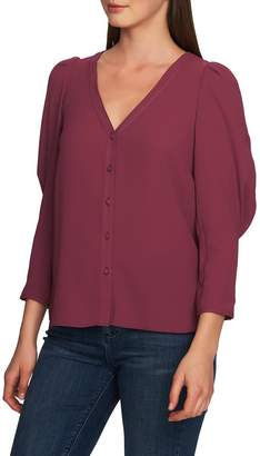 1 STATE 1.STATE Puff Sleeve Blouse
