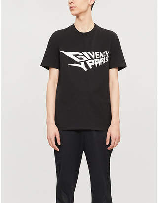 Givenchy Glow in the dark cotton-jersey T-shirt