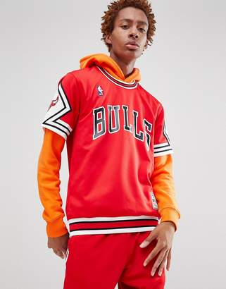 Mitchell & Ness NBA Chicago Bulls t-shirt in red