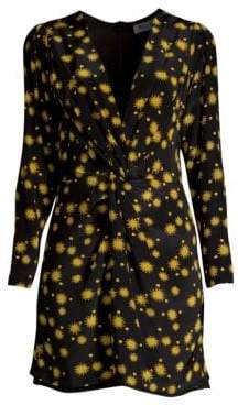 DAY Birger et Mikkelsen Delfi Collective Frankie Sun Print Long Sleeve Mini Dress