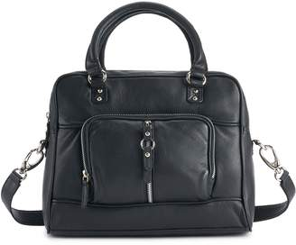 Women's Paradox Leather Tuscany Leather Double Handle Leather Satchel