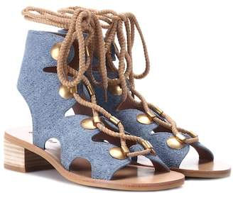 See by Chloe Edna suede sandals