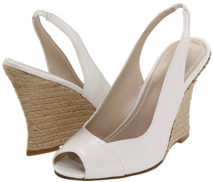 Nine West AllGood (White Synthetic) - Footwear