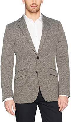 Perry Ellis Men's Slim Fit Jacquard Suit Jacket