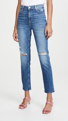 Paige Sarah Destructed Slim Jeans