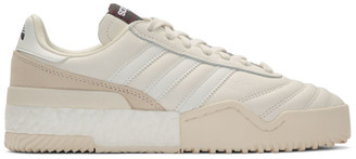 adidas By Alexander Wang by Alexander Wang White B-Ball Soccer Sneakers