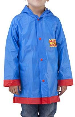 Disney Mickey Mouse Boys Rain Slicker - Size Large, 6-7