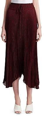 A.L.C. (エーエルシー) - A.L.C. Women's Maya Tie Waist Pleated Midi Skirt
