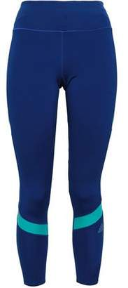adidas Two-tone Tech-jersey Leggings