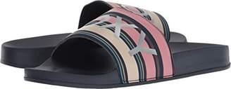 Roxy Women's Slippy Textile Slide Sandal Sport