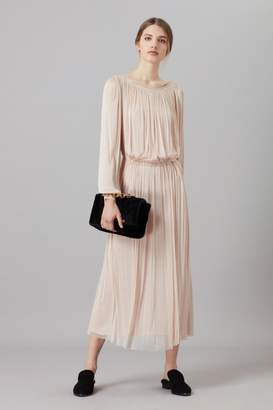 Amanda Wakeley Marta Blush Midi Dress