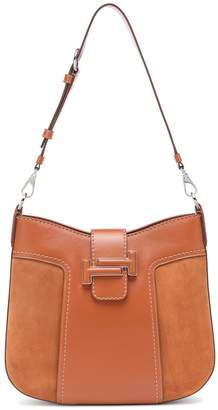 Tod's Double T Hobo leather shoulder bag