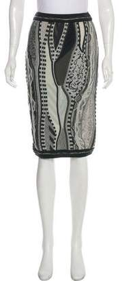 Rag & Bone x Coogi Merino Wool Knee-Length Skirt