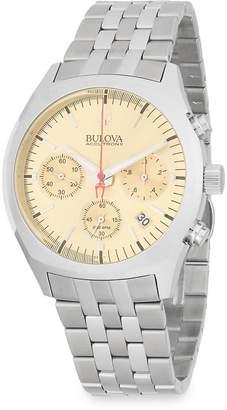 Bulova Men's Surveyor Stainless Steel Bracelet Watch