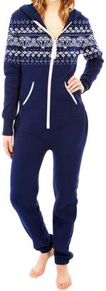SkylineWears Womens Onesie Fashion Playsuit Ladies Jumpsuit L