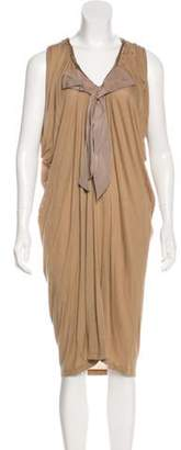 Lanvin Scoop Neck Midi Dress Scoop Neck Midi Dress
