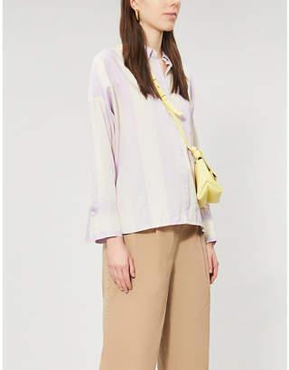 Samsoe & Samsoe Oana striped organic-cotton shirt