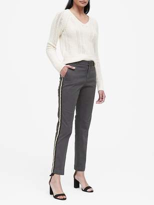 Banana Republic Sloan Skinny-Fit Side-Stripe Washable Chino