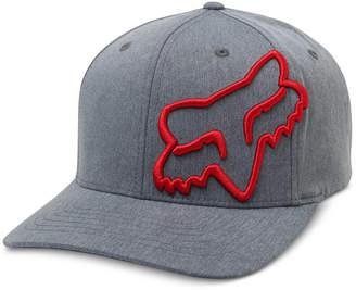 Fox Men's Clouded 3D Embroidered-Logo Flexfit Hat