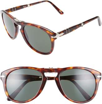 Persol Folding Polarized Keyhole Sunglasses