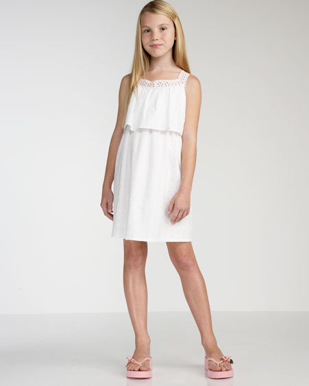 Juicy Couture Eyelet Dress, Sizes 2-6