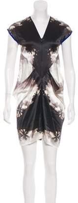 Zero Maria Cornejo Printed Mini Dress