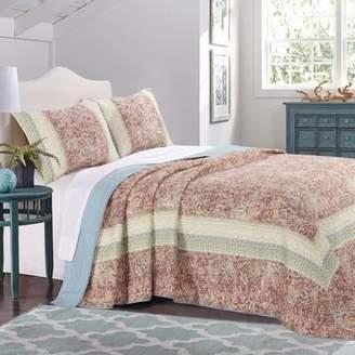 August Grove Caigan Reversible Bedspread Quilt Set