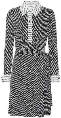 Diane von Furstenberg Didi printed silk jersey wrap dress