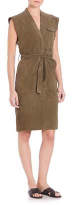 SET Women's Suede Dress
