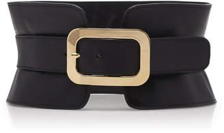Elie Saab Calfskin Corset Belt