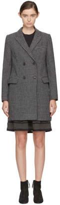 Etoile Isabel Marant Grey Check Iken Coat