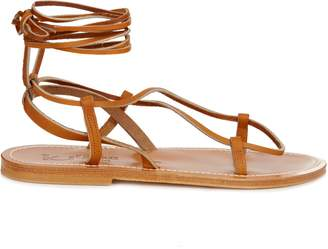 Thebes leather sandals