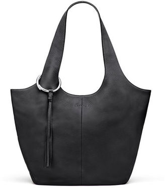 Elizabeth and James Finley Leather Shopper Bag $525 thestylecure.com