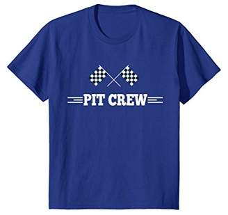 Pit Crew T Shirt for Hosting Race Car Parties