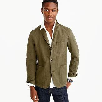 Wallace & Barnes garment-dyed chore blazer $150 thestylecure.com